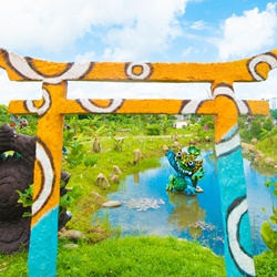 カラフルシーサー石垣島